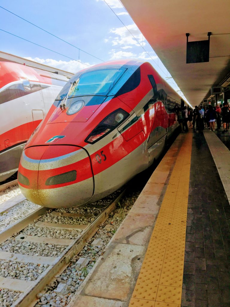 The Florence Fiasco Bullet Train that Did Not Stop for Me