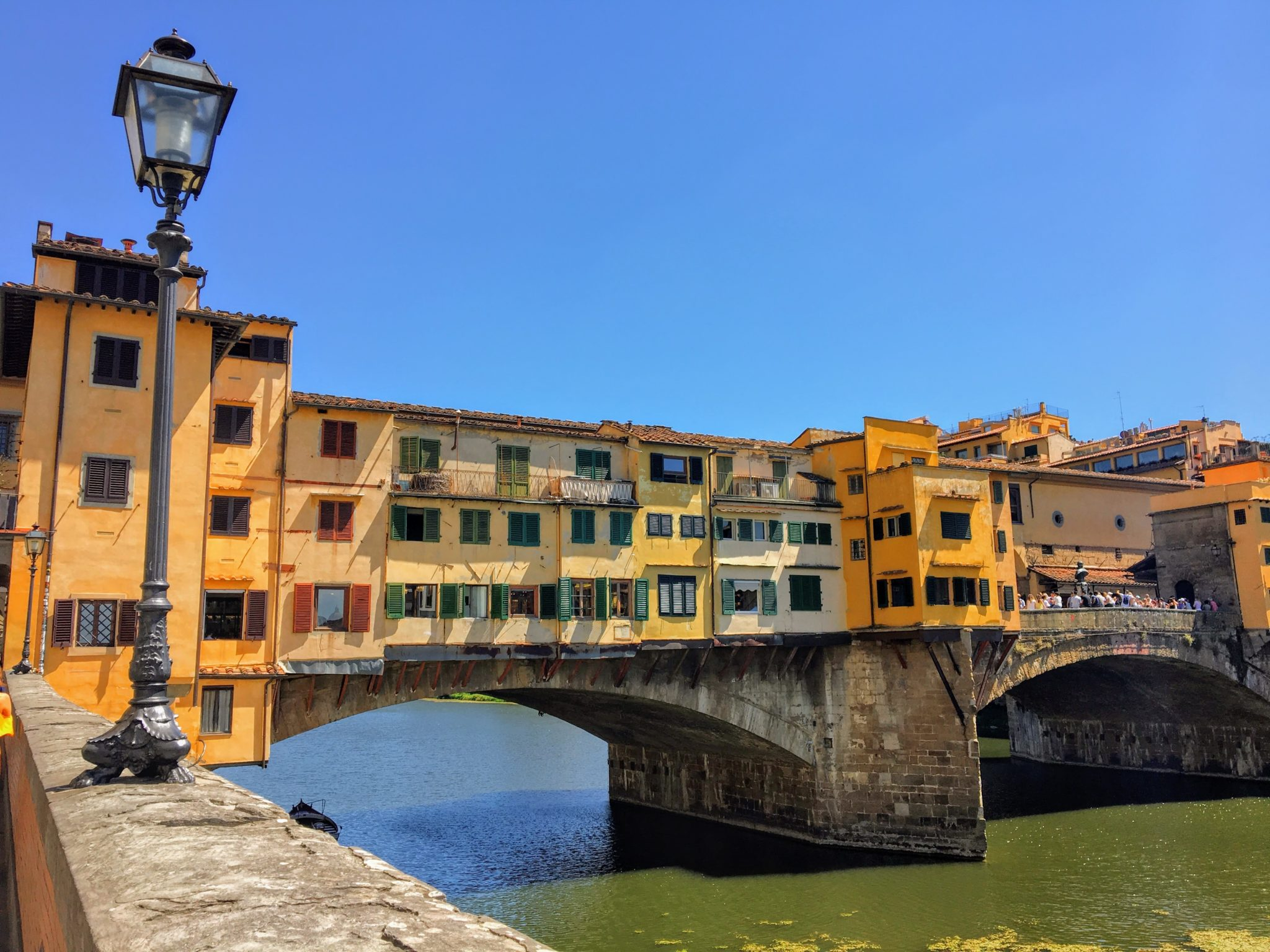 The Ponte Vecchio bridge that we discovered during our Florence Fiasco