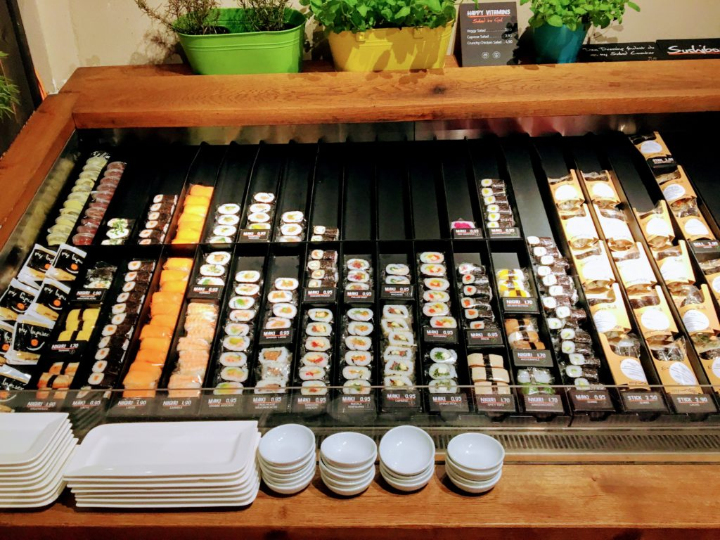 My Indigo had an inviting sushi bar