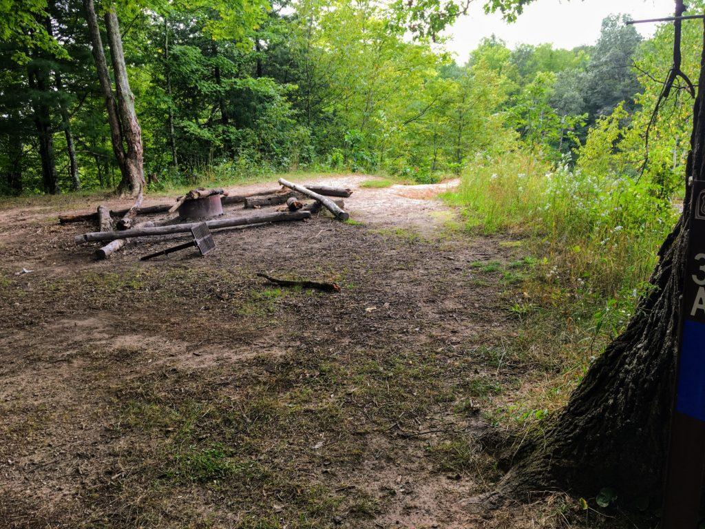 Campsite 3A - Manistee River Trail
