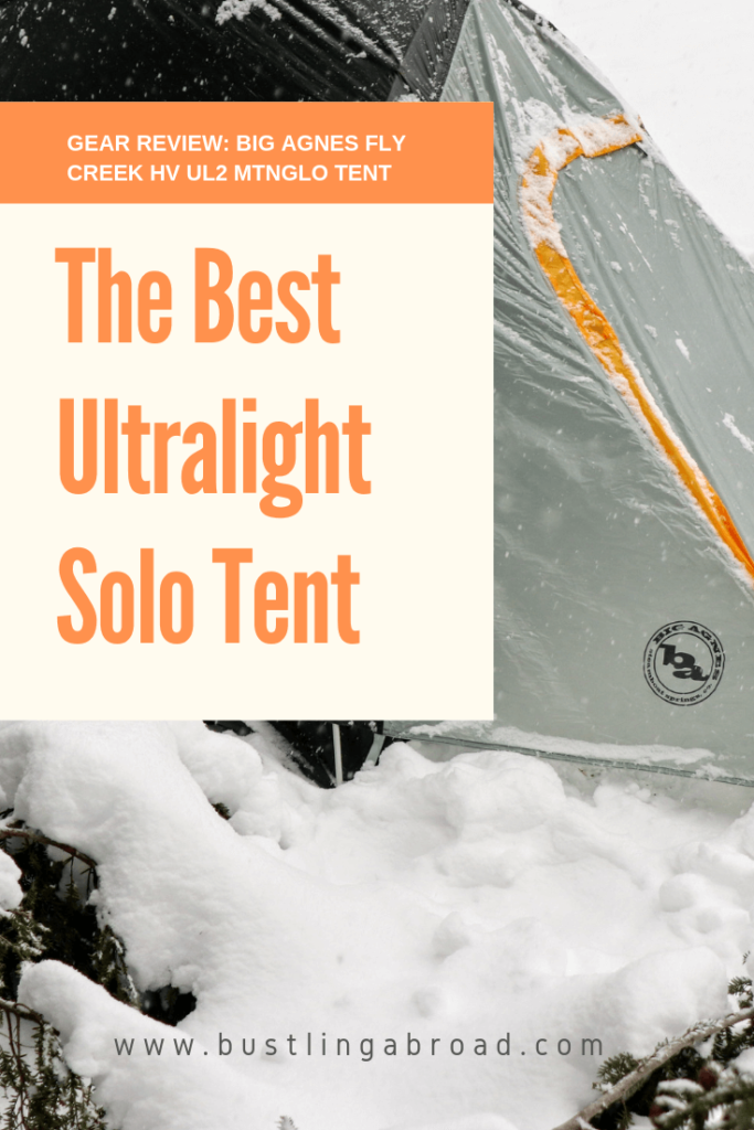 The Best Ultralight Solo Tent