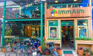 Review: Imm Aim Vegetarian and Bike Cafe
