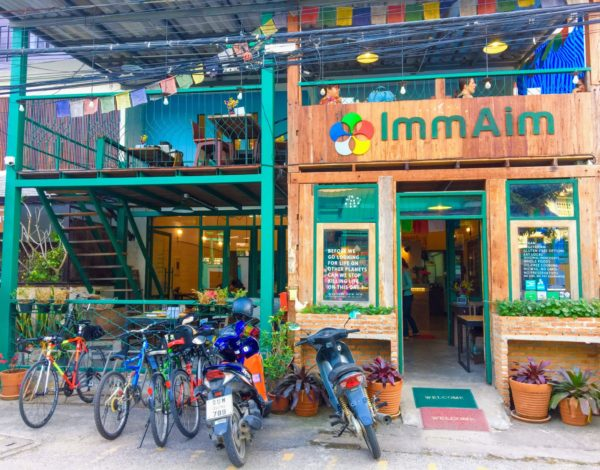 Review: Imm Aim Vegetarian and Bike Cafe