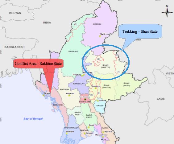 Trekking in Myanmar Requires Political Awareness