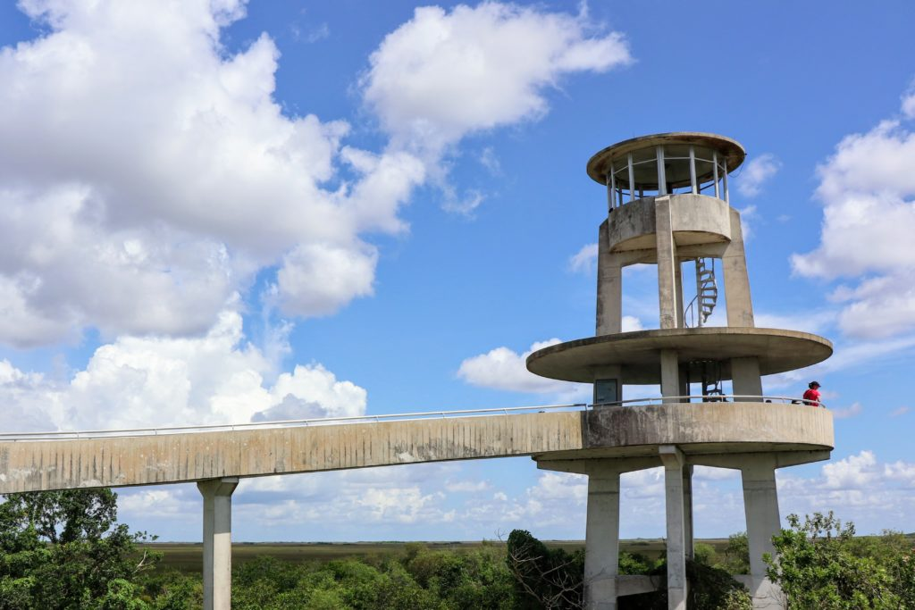 Observation Tower - Shark Valley Everglades National Park